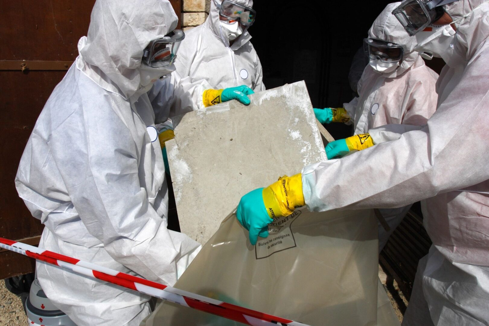 Our mold remediation services in action in Jupiter, FL
